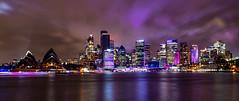 Sydney on the Horizon (Jared Beaney) Tags: canon6d canon australia australian photography photographer travel vividsydney 2018 sydney night colour bright cityscapes kirribilli sydneyharbour sydneyoperahouse