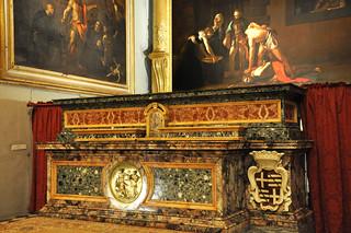 Caravaggio in the oratory