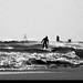 20170101_15 Surfer out among the waves | Rockaway Park, New York City