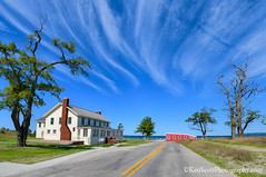 Glen Haven ... horsetail clouds kind'a day (Ken Scott) Tags: glenhaven cannery red sleepingbearinn sleepingbearbay bluesky coolclouds road leelanau michigan usa 2017 september summer 45thparallel hdr kenscott kenscottphotography kenscottphotographycom freshwater greatlakes lakemichigan sbdnl sleepingbeardunenationallakeshore voted mostbeautifulplaceinamerica