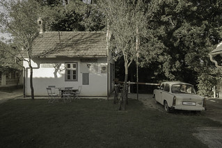 The border post of Andau