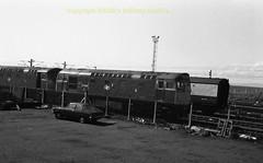 Falkland Yard 27004 early 80's c639 (Ernies Railway Archive) Tags: ayr falklandyard gswr lms scotrail