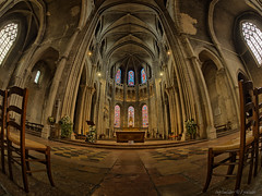 Chalon Cathedral (Only Snatches) Tags: altar architektur art bourgogne bourgognefranchecomté burgund burgundy chalonsursaône france frankreich kunst mittag mood rokinon sakralbauten samyang75mm135fisheye saôneetloire walimex architecture friedlich noon peaceful sacredbuildings