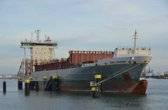 Dina Trader (Hugo Sluimer) Tags: delandtong landtongrozenburg landtong portofrotterdam port haven rozenburg nederland holland zuidholland nlrtm onzehaven