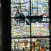 Stained glass with nautical motif