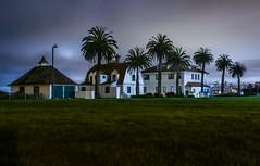 calisphere (pbo31) Tags: sanfrancisco california color night dark black nikon d810 september 2018 summer boury pbo31 presidio fog mist crissyfield coastguard house palms