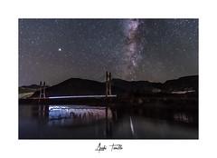 _ATP1341 (anahí tomillo) Tags: nikond7500 sigma1750f28 paisaje landscape noche night estrellas starts cielo sky reflejo reflection