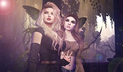 Unseelie Wrangling (ColeMarie Soleil (Cole's Corner)) Tags: sharniazalee colemarie soleil secondlife sl the looking glass