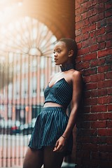 Redemption (ml_king) Tags: melanin fashion eyes ruleofthirds composition beauty natural girl black sunrise f095 50mm mitakon a6300 sony