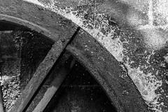 Moulin à  eau (antoine_blin) Tags: architecture blackandwhite cascade city d7200 eau nikon nikon35mm18 noiretblanc ville water fougères