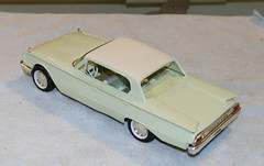 1960 Ford Galaxie 4-Door Hardtop Promo Model Car - Corinthian White over Adriatic Green (coconv) Tags: car cars vintage auto automobile vehicles vehicle autos photo photos photograph photographs automobiles antique picture pictures image images collectible old collectors classic promotional dealership plastic scale promo model smp amt mpc johan revell hubley 125 124 banthrico sample kit coupe history historical dealer toy miniature 125th 1960 ford galaxie 4door hardtop corinthian white over adriatic green 60