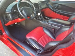 """2004 Z06 Torch Red w/ Mod Red Interior (Mark """"MacA"""" Anderson) Tags: c5 z06 torchred corvette 2004"""