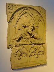 Buste à capuchon (Μonia) Tags: basrelief histoire sculpture personnage art zuiko1240mm em1 couleur