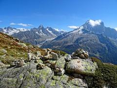 Aiguille rouges (Manon Ridet) Tags: montagne montblanc mountain massif paysage panorama alpes alpinisme rhônealpes randonnée nature hautesavoie france glacier rocher