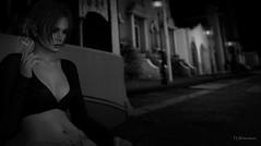 Because the Night (TinLiz_WinterStorm) Tags: littlehavana tram secondlife sl slmesh slblogs slphotography slposes slphotos slart blackwhite bw anaposes catwa maitreya secondlifeblogphotos secondlifephotography secondlifeart