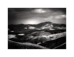 Light And Shade,Fuerteventura (Dave Slinn) Tags: fuerteventura mountains blackandwhite mono canaryislands canarias maxorata