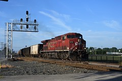 CP 8515 at Fostoria, OH (dl109) Tags: canadianpacific ac44cw fostoria oh