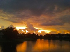 just stop, look, enjoy. (lada/photo) Tags: sunset sky skyandclouds skyandwater floridasunset summerskies ladaphoto