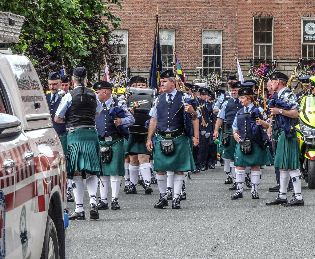 NATIONAL SERVICES DAY [PARADE STARTED OFF FROM NORTH PARNELL SQUARE]-143657