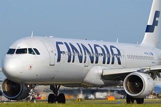 Finnair OH-LZF Airbus A321-211 cn/2208 @ Taxiway Q EHAM / AMS 06-06-2016