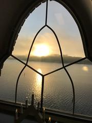 Vintersolståndsljus över Riddarfjärden sett från Stadshuset (Linzen004) Tags: soluppgång stockholmsuniversitet