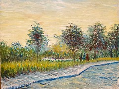 Sure Saint-Pierre at sunset - Vincent van Gogh (Val in Sydney) Tags: amsterdam holland rijksmuseum museum vincent van gogh