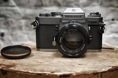 Nikkormat EL 50mm f1,4 (chrisimages1) Tags: nikkor analogique 35mm samyang argentique lens camera f14 50mm em nikkormat nikon sony