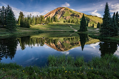 Crested Butte (Jeremy Duguid) Tags: crested butte colorado southwest southwestern mountains rural mountain rockies travel nature landscape reflection lake pond sunrise morning outdoor outdoors photography jeremy duguid sony
