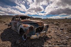 Death Valley Car (David Swindler (ActionPhotoTours.com)) Tags: california deathvalley southwest desert car oldcar vehicle joshuatrees