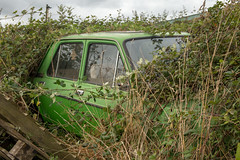 Abandoned Fiat (christina.marsh25) Tags: fiat car abandoned derelict old overgrown bramble
