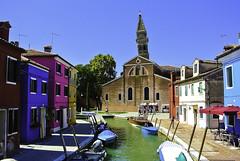 Farbenprächtiges Burano (3) - Colorful Burano (Kat-i) Tags: burano italien italy insel island huser buildings bunt colorful nikon1v1 kati katharina 2018