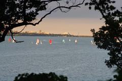 Sailing at Hamilton Bay (AncasterZ) Tags: sailboat sail fd200mmf4