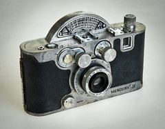 Univex Mercury II (SBA73) Tags: càmara camera photo photographic photography fotografia foto historia vintage old analogic collect 35mm filmisnotdead univex mercuryii american answer rotaryshutter 1945 odd unusual funny knobs