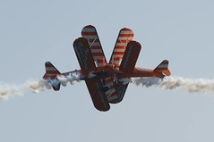 Bournemouth Airshow 2018 - 72 (D.Ski) Tags: wingwalkers flyingcircus bournemouth airshow bournemouthairshow bournemouthairfestival 2018 airplane aircraft planes display flying england southcoast uk nikon d700 nikond700 200500mm