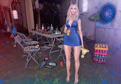 🎉!Party!🎉 (sarameifs) Tags: purepoison tetra n°59 skinnery girl party drink drd secondlife sl virtual mesh bento