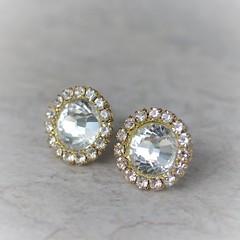 Gold Crystal Earrings, Gold Bridesmaid Earrings, Gold Bridesmaid Jewelry, Crystal Gold Earring Gift, Gold Bridesmaid Gift, Wedding Jewelry https://t.co/vsSfzxomaS #weddings #gifts #earrings #bridesmaid #jewelry https://t.co/0nrzFxciIP (petalperceptions.etsy.com) Tags: etsy gift shop fashion jewelry cute