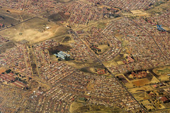 Aerial View of Johannesburg (peace-on-earth.org) Tags: aerial johannesburg southafrica peaceonearthorg