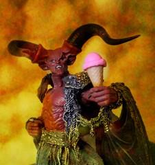 DIET !2018-09-21 (wintersoul1) Tags: diet dieting toys devil icecream satan orange