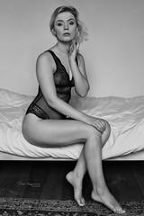 Sonia sitting on bed (piotr_szymanek) Tags: sonia soniak blackandwhite portrait woman young skinny face blonde transparent lingerie bed legs feet boudoir 1k 20f 50f 5k 100f 10k bestportraitsaoi 20k 200f 30k studio 40k 50k studiolight smalltits