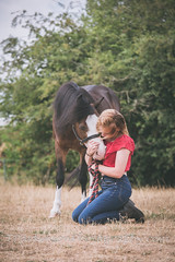 (eparkinsonphotography.com) Tags: pony love girl horse equine equestrian portrait red hug