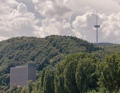 A Brewery And A Telecommunications Tower (pni) Tags: forest building fernmeldeturm telecommunications tower koblenzerbrauerei königsbacherbrewery cloud sky rhein rhine koblenz ger18 germany deutschland pekkanikrus skrubu pni