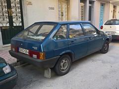 Lada 2109 (Norbert Bánhidi) Tags: malta saintpaulsbay sanpawlilbaħar baiadisanpaolo buġibba car vehicle lada лада vaz ваз was malte мальта málta