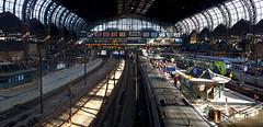 Hamburg Hbf (nickcoates74) Tags: a6300 deutschland germany hamburg ilce6300 sony hauptbahnhof bahn railway station affinityphoto panorama