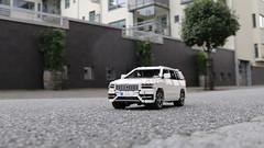 Lego Volvo XC90 (dgustafsson1317) Tags: lego technic car suv volvo xc90 white rc