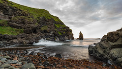 Portcoon Jetty (jac.photography49) Tags: beach harbour clouds cliff exposure sea reflections headland fullframe f4 ngc ireland images inshore view sky 5dmkiii rocks northernireland shore sunset waves jetty