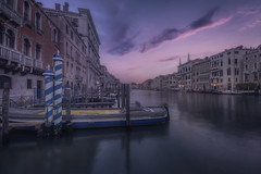 Venetian paths 104(On canal Grande) (Maurizio Fecchio) Tags: venice venezia morning sunrise canal water architecture city cityscape travel atmosphere boats italy italia