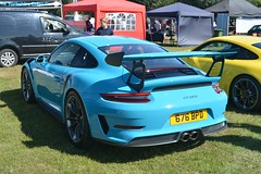 Porsche 911 GT3 RS (CA Photography2012) Tags: 676bpd porsche 911 gt3 rs miami blue 991 series 9912 supercar sportscar rennsport super sports lightweight german legend ca photography automotive exotic car spotting owners club lotherton hall 2018