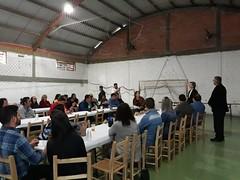 01/09/18 - Almoço no salão da Igreja Vila Victor Issler em Passo Fundo com o vereador Mateus Wesp.