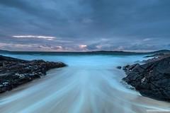 Backwash Harris (marona-photography) Tags: scotland unitedkingdom harris outerhebrides westernisles backwash seascape sea coast waves stormy dark