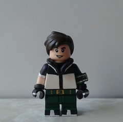 Jooshverse Ben 10 (jooshfigs) Tags: ben10 ben10000 cartoonnetwork cartoon animated legocustom minifigures jooshfigs lego custom